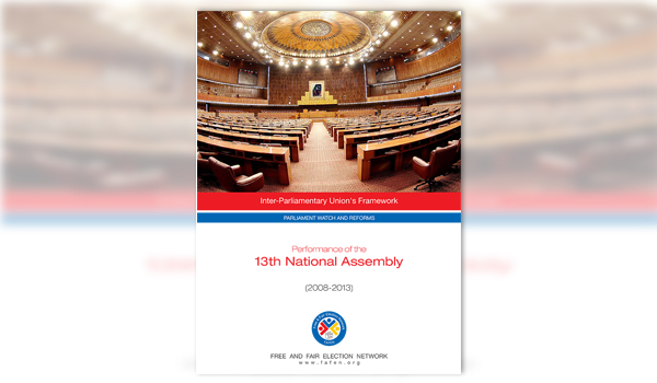 Performance of the 13th National Assembly