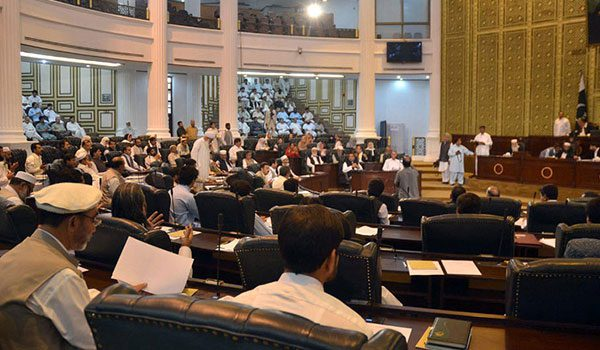 KP Assembly Adopts Three Private Members' Resolutions