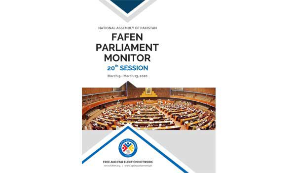 National Assembly of Pakistan 20th Session Report